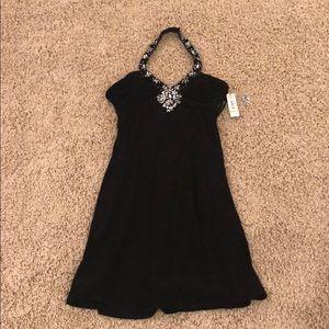 Gorgeous black halter dress